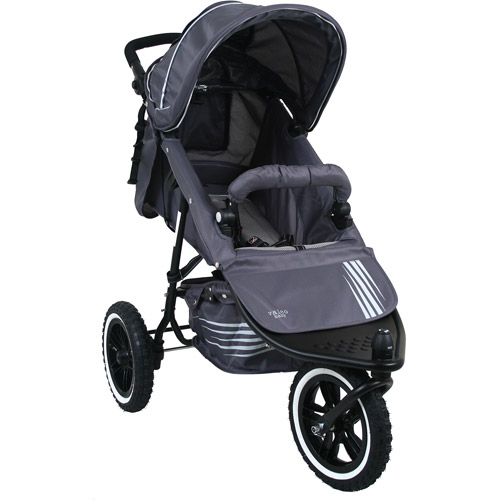 Valco Baby Matrix Dart EX All-Terrain Stroller, Grey