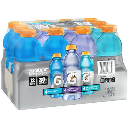 5a2e95f95941a Gatorade G Thirst Quencher Variety Pack, 20 Fl. Oz. 12 Count – BrickSeek
