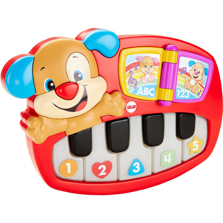 Fisher Price Laugh & Learn Puppy's Piano by FISHER PRICE