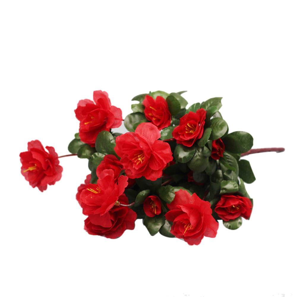 Artificial Bouquet Simulation Of Azalea Safflower Home Wedding Decoration