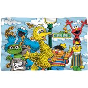 Sesame Street Fleece Blanket