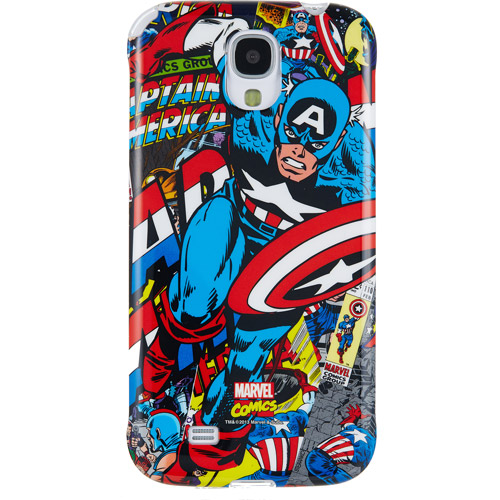 Samsung Galaxy S4 Marvel Comics Polycarbonate Case, Captain America