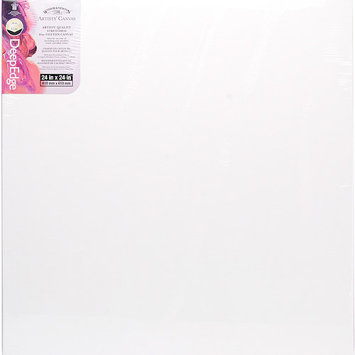 Winsor & Newton Artists' Quality Deep Edge Stretched Canvas