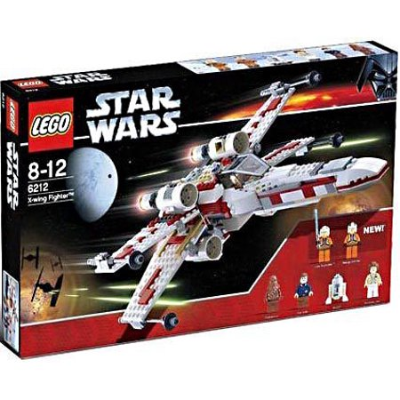 Star Wars A New Hope X Wing Fighter Set Lego 6212