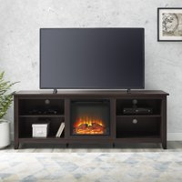 "Walker Edison Traditional Fireplace TV Stand for TV's up to 78"" - Multiple Finishes"