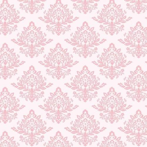 "David Textiles Quilting Cotton 44"" Paris Pink Collection Fabric, per Yard"