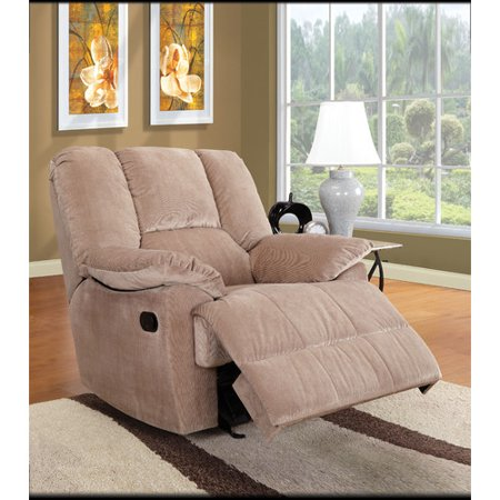 - Oliver Collection Corduroy Glider Recliner, Multiple Colors