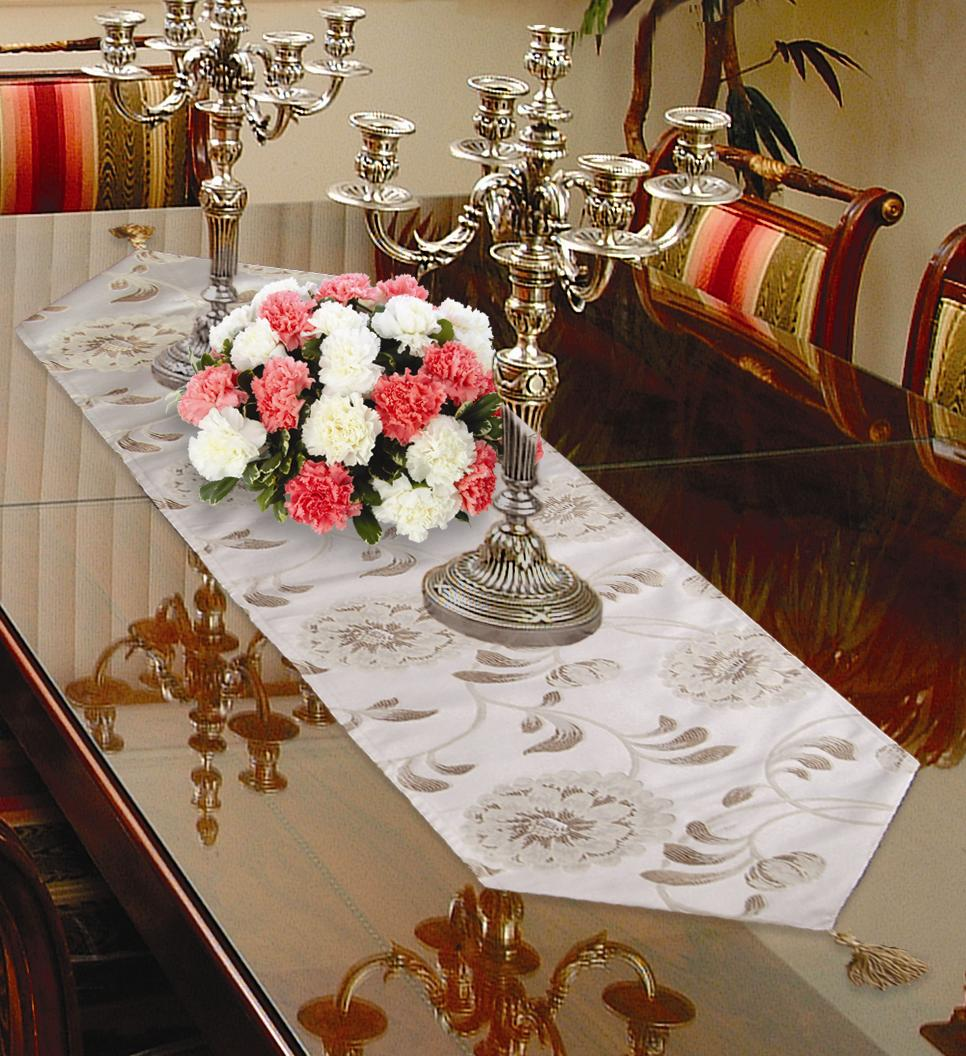 Legecy Damask Table Runners