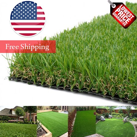 LITA Premium Artificial Grass 1' x 1' (1 Square Feet) Realistic Fake Grass Deluxe Turf Synthetic Turf Thick Lawn Pet Turf -Perfect for indoor/outdoor Landscape - Customized Sizes