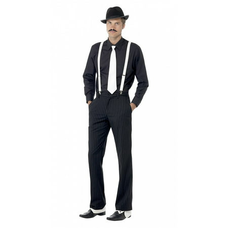 Instant Gangster Kit Adult Costume Accessory Kit - 1920 Gangsters Costume