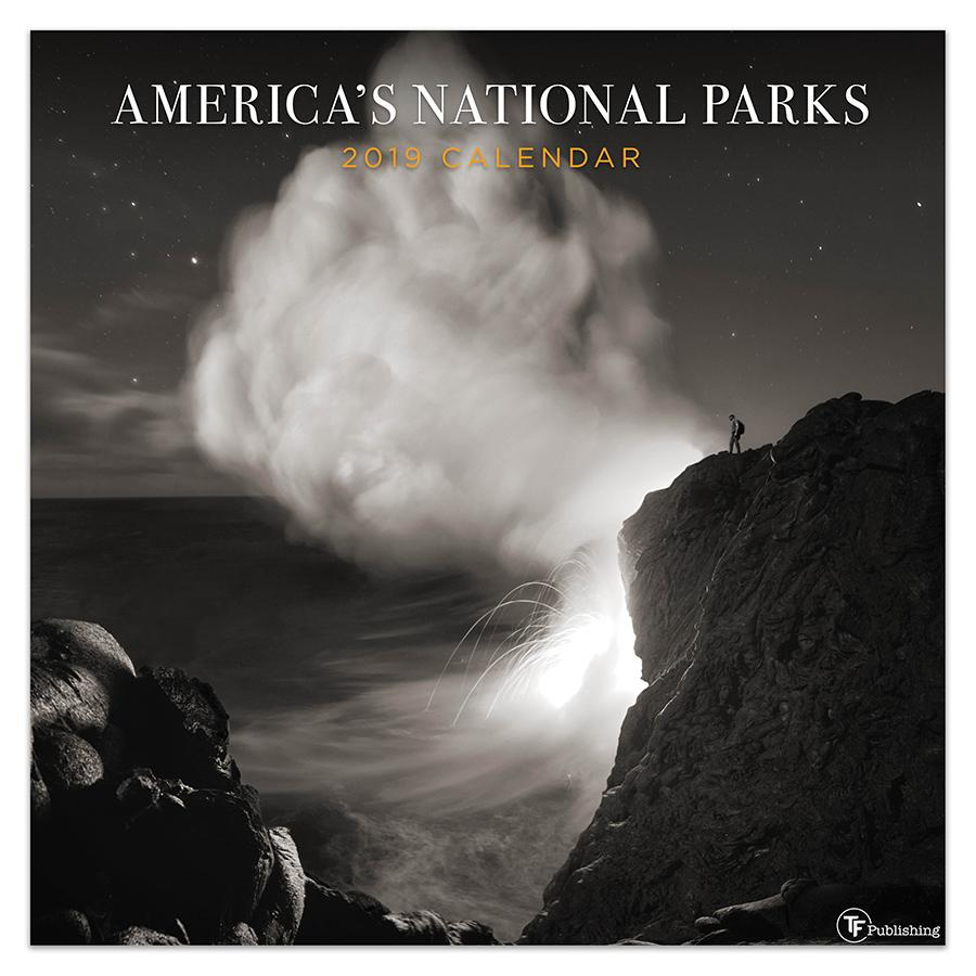 "2019 America's National Parks 12"" x 12"" January 2019-December 2019 Wall Calendar"