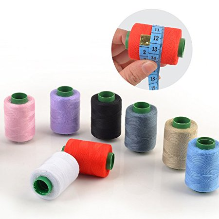 Professional Thread Setter - eZthings® Professional Sewing Thread Kit for Arts and Crafts (380 Yard Thread x 10 colors)