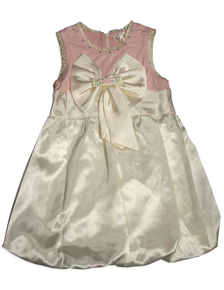 Baby Sara Infant Baby Girls Sleeveless Party Dresses - 2 Colors Available, 31272 ivory / 24Months