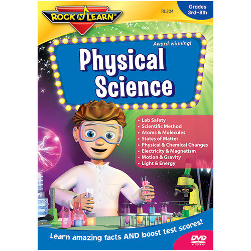 Rock N Learn Physical Science Dvd Gr 5 & Up