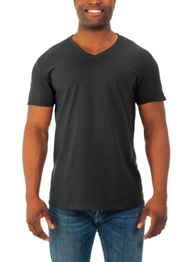 37bd02e9 Product Image Mens' Soft Short Sleeve V-Neck T Shirt, ...