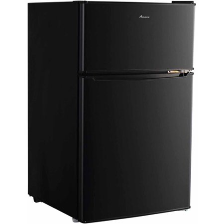 Amana 3.1 cu ft Compact 2-Door Refrigerator, Black