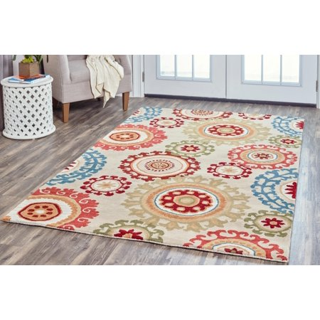 10 X 14 Persian Rug - Rizzy Home CW9387 Natural 10' x 14' Hand-Tufted Area Rug