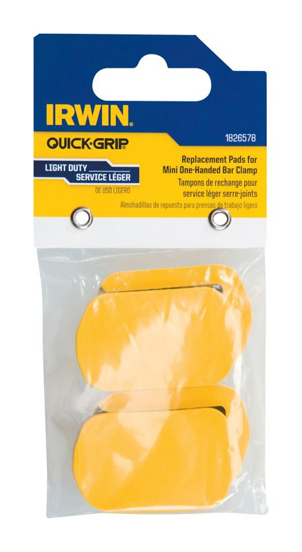 "Irwin Quick Grip Mini Clamp Replacement Pads 6 "" 12 "" Pk by Irwin Industrial"