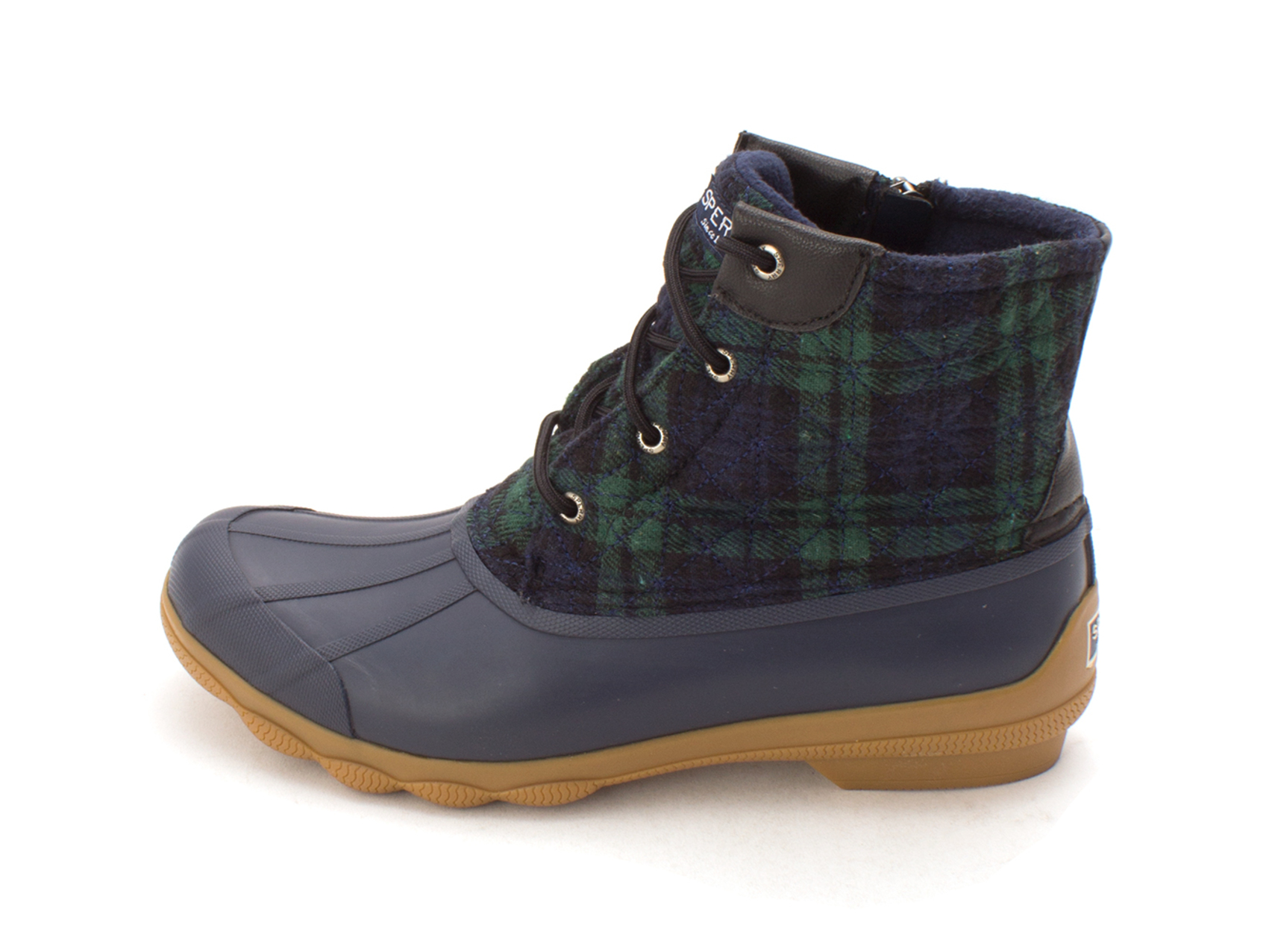 Sperry Womens syren gulf Closed Toe Ankle Cold Weather Boots, Green, Size 10.0