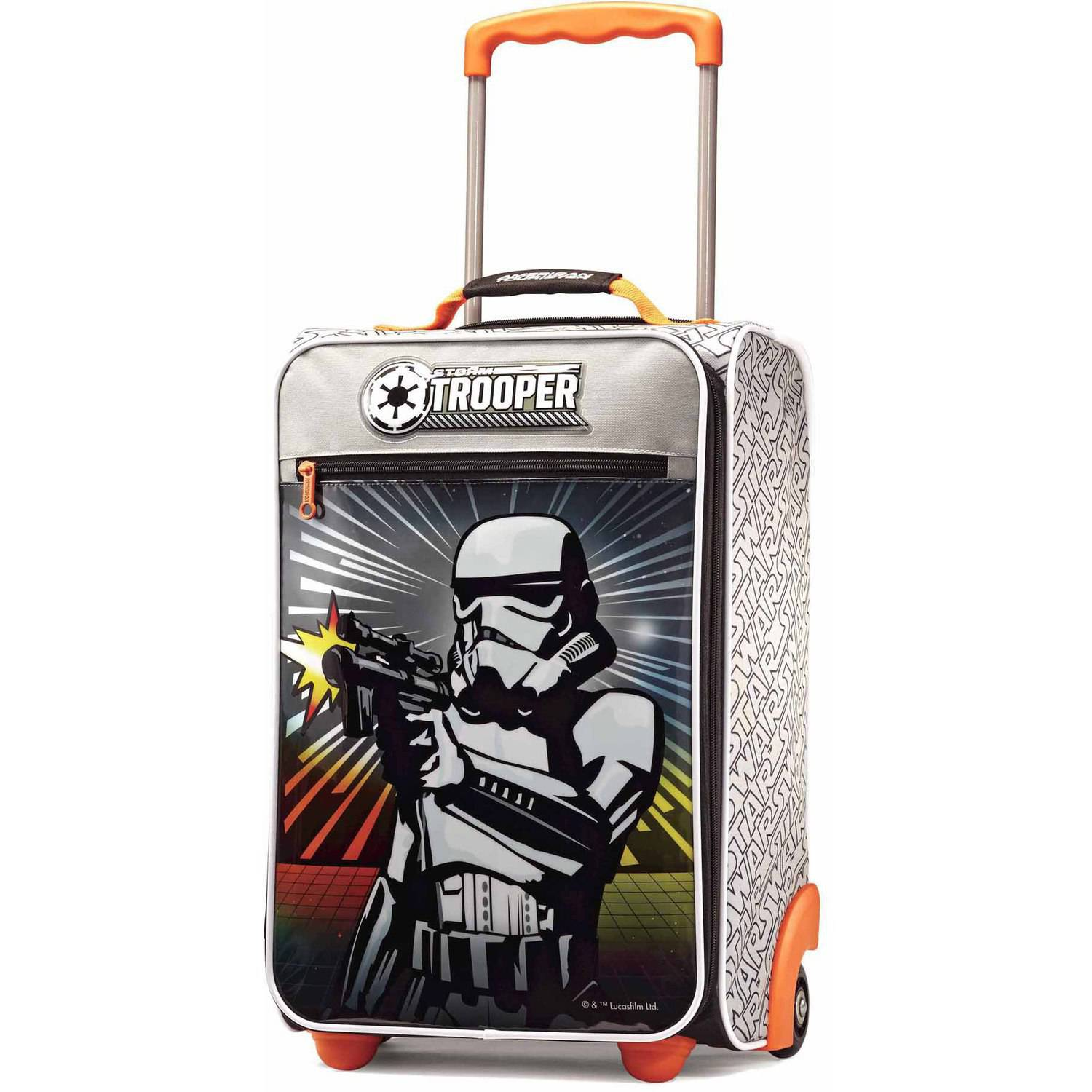 "American Tourister Disney Star Wars Storm Trooper 18"" Upright Soft Side Suitcase"