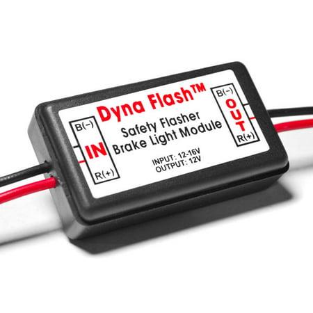 Brake Taillight Flasher Rear Alert Back Off Light For Pontiac / Subaru Matiz Safari Sunbird Sunfire Baja - image 4 de 4