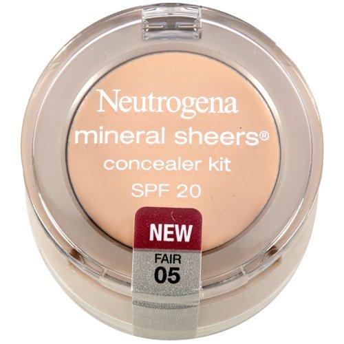 Neutrogena Mineral Sheers Fair 05 Concealer Kit .15 Oz