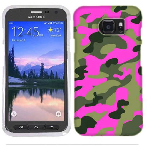 Mundaze Pink Camo Phone Case Cover for Samsung Galaxy S7 Active