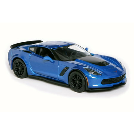 2015 Chevrolet Corvette Z06, Blue - Maisto 31133 - 1/24 Scale Diecast Model Toy - 24 Scale 1957 Chevrolet Corvette