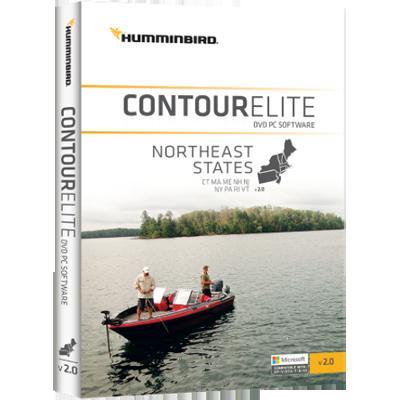Humminbird Contour Elite- Northeast States - image 1 of 1