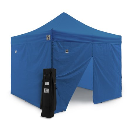 Impact Canopy 10 x 10 ft. Pop Up Canopy with Weight Bags and Roller