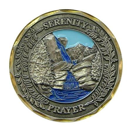 Eagle Crest Bronze Serenity Prayer Coin