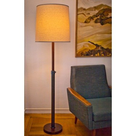 Lummo Oliver Drum 1 Light Floor Lamp