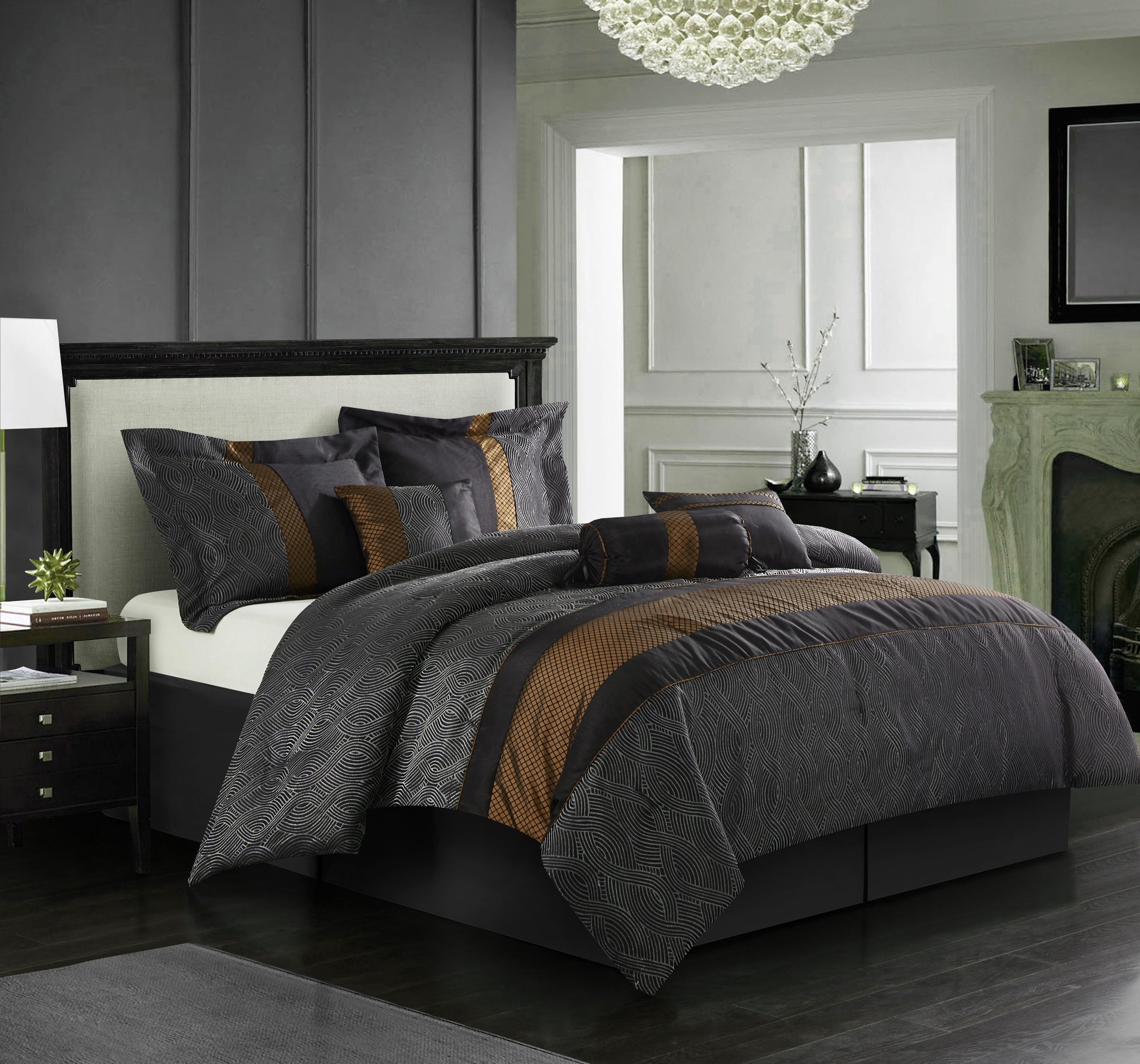 Nanshing Corell 7-Piece Bedding Comforter Set
