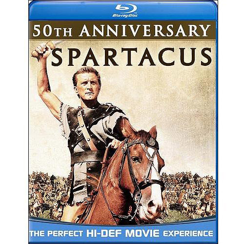 SPARTACUS 50TH ANNIVERSARY EDITION (BLU RAY)