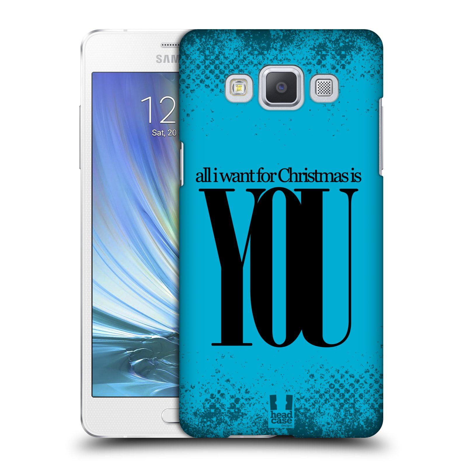 HEAD CASE DESIGNS CHRISTMAS STATEMENTS HARD BACK CASE FOR SAMSUNG PHONES 1