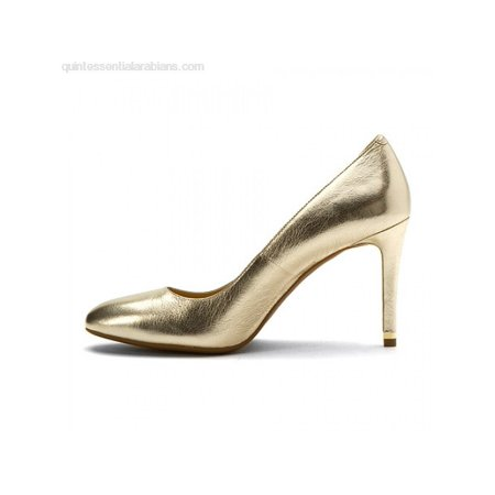 2ce37ca0340d MICHAEL Michael Kors - Michael Michael Kors Womens Ashby Flex Pump Leather  Closed Toe Classic Pumps - Walmart.com