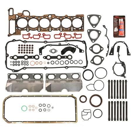 Evergreen FSHB9325 Full Gasket Set Head Bolts Fit 01-06 BMW 325i 530i X3 X5 Z4 2.5 3.0 DOHC