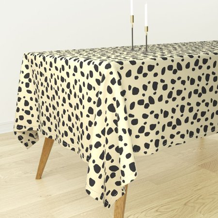 Tablecloth Summer Animals Jungle Cheetah Leopard Shabby Chic Cotton Sateen (Cheetah Print Table Cover)