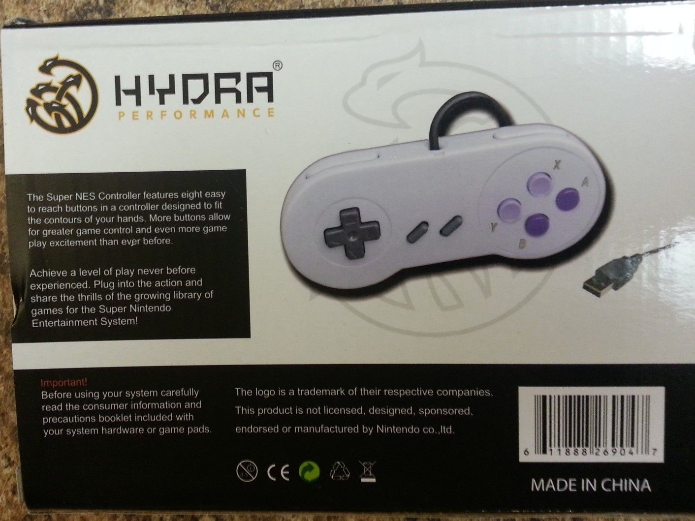 hydra video game system