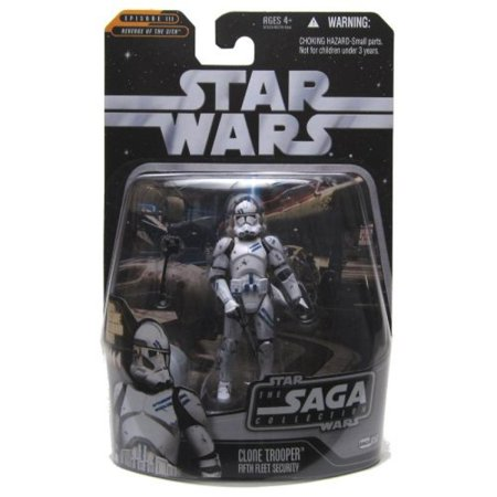 Star Wars - The Saga Collection - Basic Figure - Clone Trooper Fifth Fleet Security (Star Wars Clone Trooper)