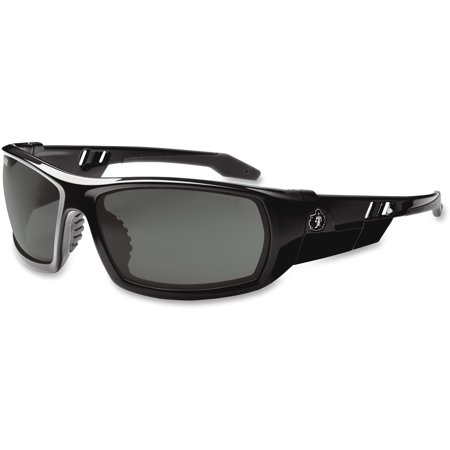 Ergodyne Skullerz Odin Anti Fog Safety Sunglasses Black Frame Smoke Le