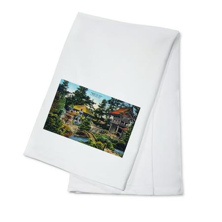 Tea Garden Golden Gate Park - San Francisco, California - Golden Gate Park Japanese Tea Garden (100% Cotton Kitchen Towel)