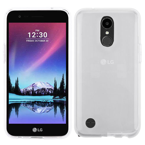 LG K20 Plus (TP2608), LG V5, LG K10 (2017), LG K20V (VS501), LG Harmony Phone Case Candy Hybrid TPU Silicone Rubber Gummy Gel Protector Cover Clear Transparent