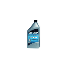Quicksilver 25W-40 4-Stroke Marine Oil - 1 Quart