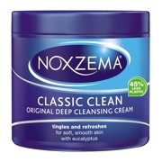 Noxzema Classic Clean Original Deep Cleansing Cream 12 Ounce Jar (354ml) (6 Pack)