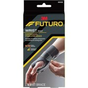 "FUTURO Right Hand Small/Medium Wrist Support - 6.75"" Adjustment - Black"