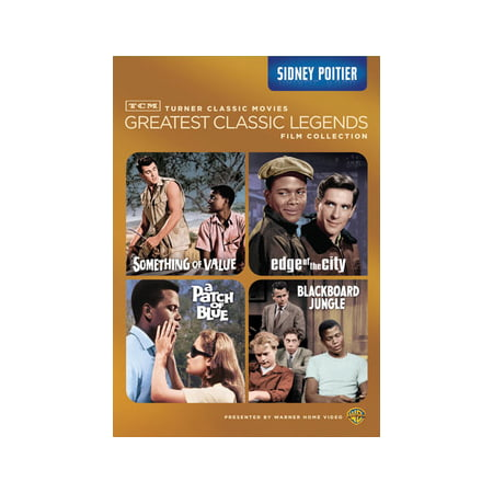 TCM Greatest Classic Legends: Sidney Poitier (DVD) (Wallace Bell 2009)