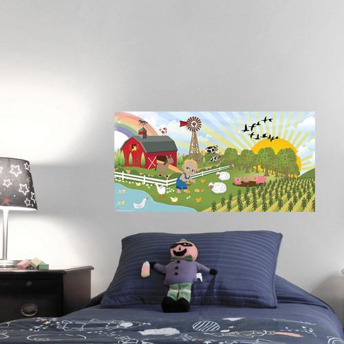 Mona Melisa Designs Farm Boy Hanging Wall Mural
