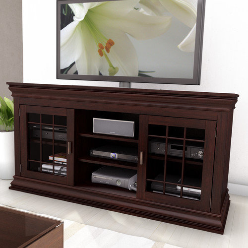 Sonax B-231-NCT Carson Wood Veneer TV/Component Bench