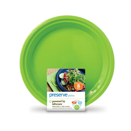 Preserve Everyday Plates, Apple Green, 9.5